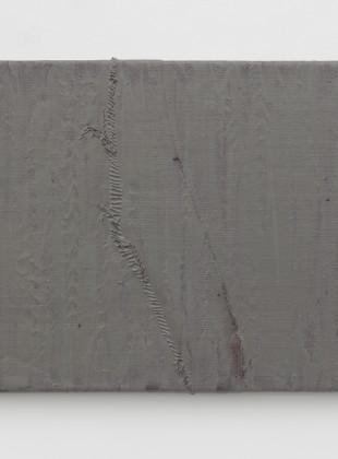 Sergej Jensen Untitled (Grey plastic scar) 2013
