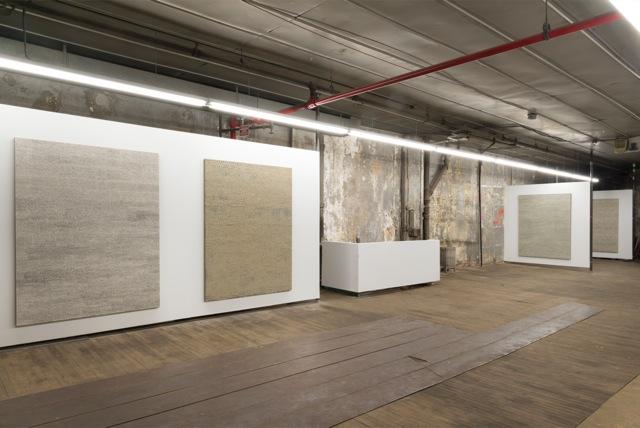 Jennifer Guidi:Field Paintings Install 2