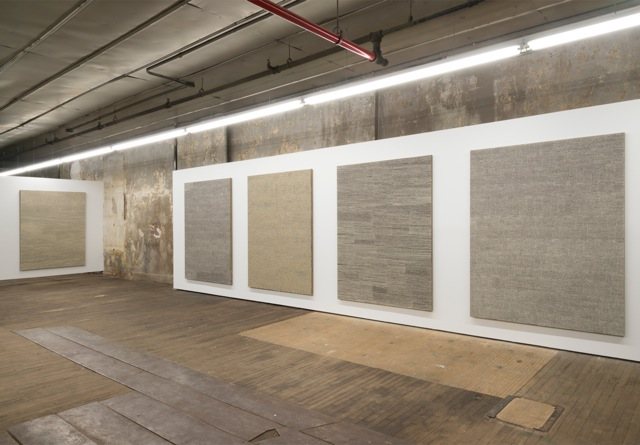 Jennifer Guidi:Field Paintings Install 3