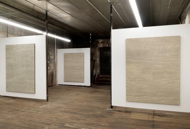Jennifer Guidi:Field Paintings Install 4