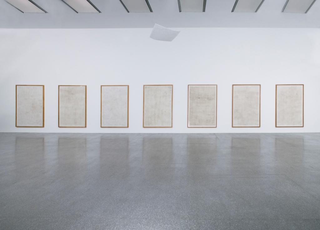 Luca-Vitone-Finestre-Isola-dell'arte-2004-Veduta-della-mostra-Monocromo-Variationen-Museion-Bolzano-2012