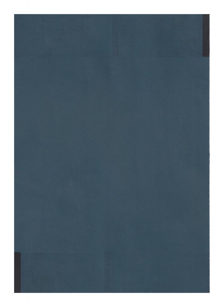 Matthew Feyld untitled MF-01OP 7x10 inches acrylic on paper 2015