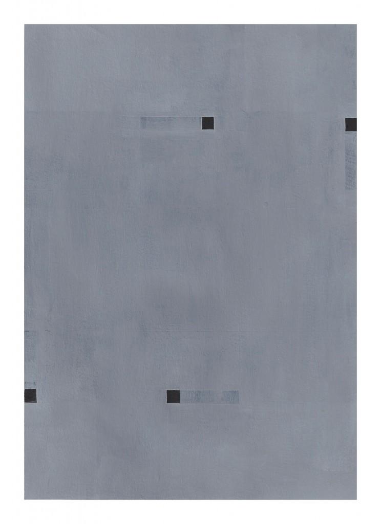 Matthew Feyld untitled MF-07OP 7x10 inches acrylic on paper 2015