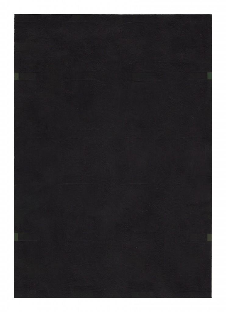 Matthew Feyld untitled MF-11OP 7x10 inches acrylic on paper 2015